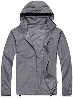 Unisex Military Anorak Jacket for Men Women Lightweight Jacket Waterproof Windbreaker Raincoat Jacket Long Sleeve Hooded Running Coat