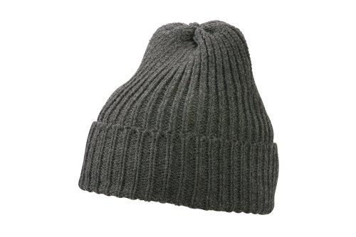 MYRTLE BEACH Thinsulate Bonnet Mixte Taille Unique Gris Gris foncé mélangé Taille Unique