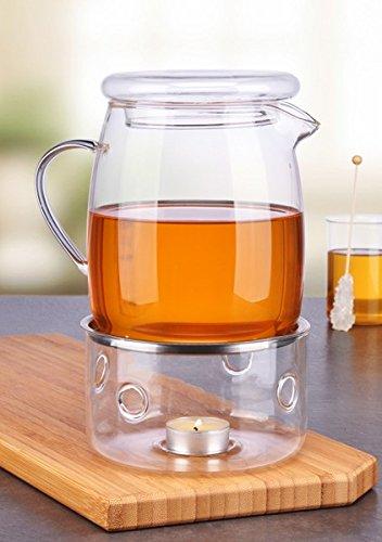 Gravidus glazen theepot met stoofje 1,4 liter