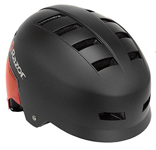 Razor Dual Shell Mulit-Sport Helmet, Youth, Red/Black