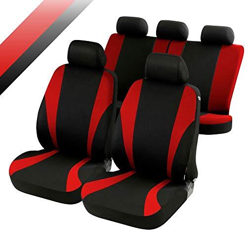rmg-distribuzione Coprisedili compatibili per Panda Versione (2012 - in Poi) compatibili con sedili con airbag, bracciolo Laterale, sedili Posteriori sdoppiabili R02S0187