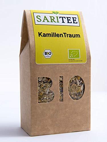 SARITEE Bio KamillenTraum lose I Kamillentee mit aromatischen Kamillenblüten aus kontrolliert biologischem Anbau I Detox Tee I Fastentee I Babytee I Magentee I 30 g