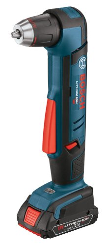 Bosch ADS181-102 18-Volt Lithium-Ion 1/2-Inch Right Angle Drill Kit with High Capacity Battery, Charger and Case