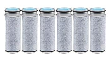 Brita Stream Water Filter Stream Pitcher Replacement Water Filter BPA Free –6 Pack