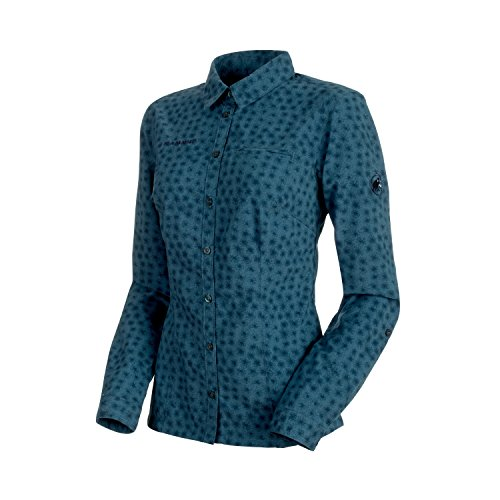 Damen Langarm-Hemd Trovat Advanced, 1030-2560,blau (jay), M