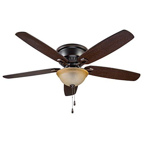 Prominence Home 90200-01 Hemlock Ceiling Fan, 58, Oil Rubbed Bronze
