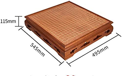 Nwn Go Board Set Erwachsene High-End-Klassiker aus Massivholz Neue Yunzi-Schachfiguren (Farbe   A)