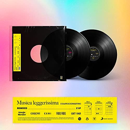 Musica Leggerissima Remixes_2LP Nero (2 LP)