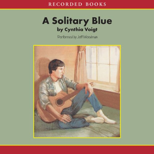 A Solitary Blue audiobook cover art