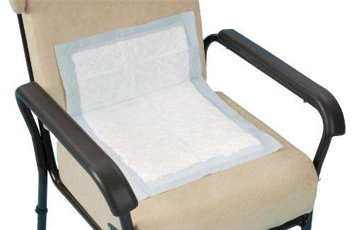 # BRAND# Klassieke bed & stoel wegwerpbescherming, 60 cm x 75 cm, extra absorberend, verpakking 35, wegwerp bedpads met waterdichte beschermers voor lekkage preventie, incontinentie absorptiepads