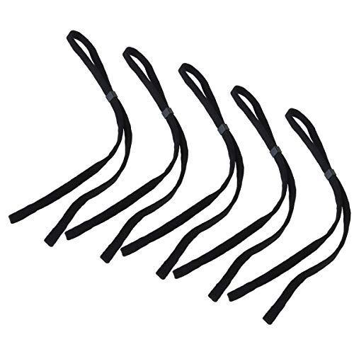 NUOLUX Sports Eyeglasses Holder Strap,Neck Cord String Eyewear Retainer Strap,5pcs