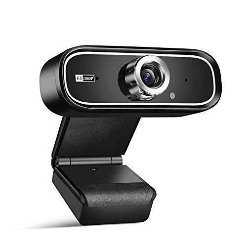 1080P USB Webcam with Microphone PC Camera Noise Reduction for Deskstop, Laptop, Video Conference, Video Calling, HD Recording, Online Class, Live Broadcast