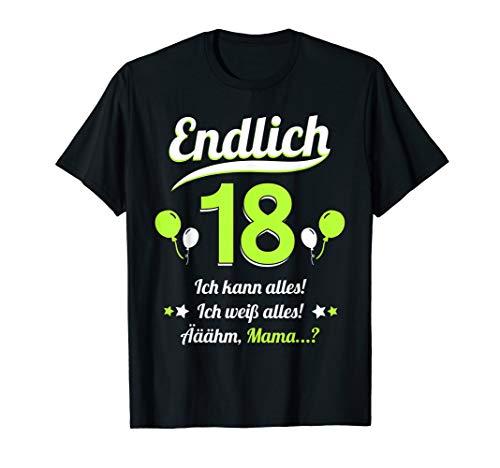 18. Geburtstag Party 2002 Teenager Mann Frau Lustig Geschenk T-Shirt