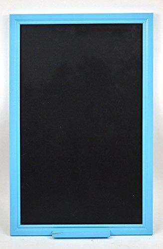 "Concepts Decorative Kitchen Chalkboard With Blue Chalk Ledge 14""x22"" Wedding or Kitchen Pantry"