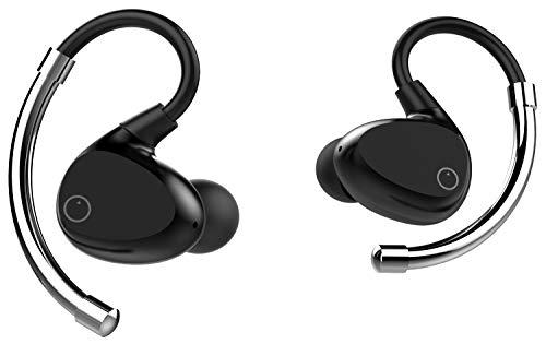 【国内正規品】完全ワイヤレス Bluetooth イヤホン eoz air BLACK x SILVER イーオージー・エアー ブラック...