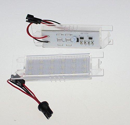 Kfz Dog Led Kennzeichenbeleuchtung kompatibel mit Astra H + J -Corsa D -Zafira B -Insignia
