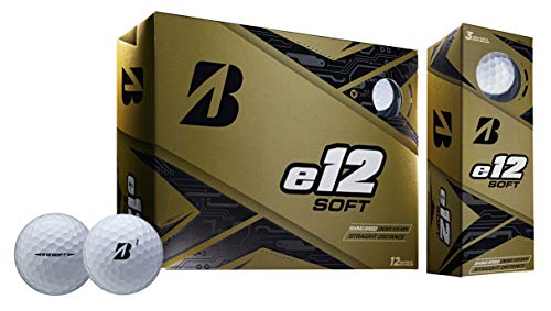 Bridgestone Golf e12 Soft Golf Balls, White