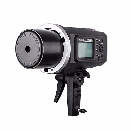 EACHSHOT Godox AD600BM + X1T-C Manual Version HSS 1/8000s 600W GN87 Outdoor Flash Light (Bowens Mount) with Lithium Battery 8700mAh + X1T-C Wireless Trigger For Canon