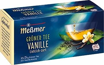 Meßmer Grüner Tee Vanille 12er