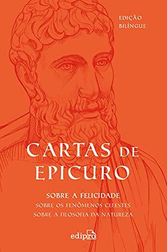 Cartas de Epicuro: Edição Bilíngue com Postal + Marcador