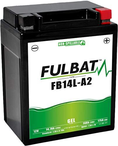 classement un comparer Batterie complète de gel de moto de YB14L-A2 / FB14L-A2 / 12N14-3A 12V14Ah