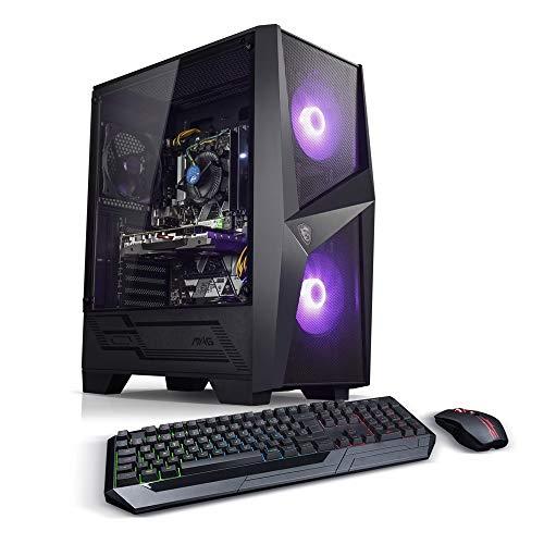 Kiebel AMD Ryzen 5 Gaming PC Bundle AMD Ryzen 5 2600 6x3.4GHz, nVidia GTX 1660 Super 6GB, 16GB DDR4, 512GB SSD + 1TB, Gaming Mouse teclado, gaming PC [185056]