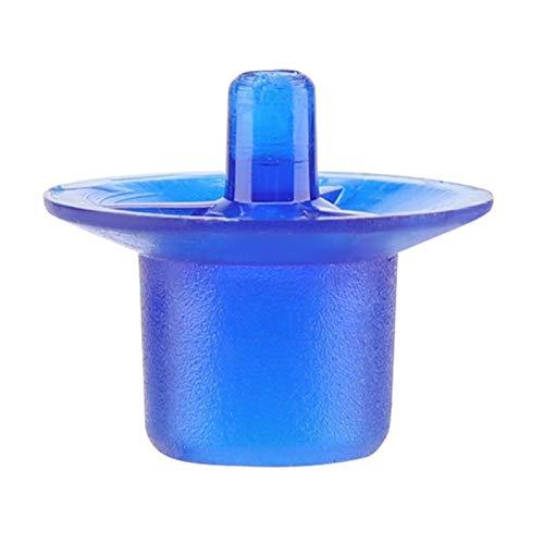 Mutuer Tazas de células de cría de Reina de Apicultura, Equipo de Apicultor, Suministro de Apicultura(Azul)