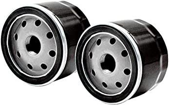 LOCOPOW AM125424 Oil Filter Replacement for Kawasaki 49065-7007 John Deere GY20577 Briggs & Stratton 492932 492932S 696854 795890 842921 695396 Tecumseh 36563 Lawn Mower (2 Pack)