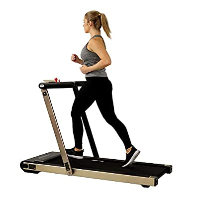 ASUNA Space Saving Treadmill, Motorized with Speakers for AUX Audio Connection - 8730G
