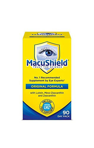 MACUSHIELD Capsulesules Pack Of 90, 100 g