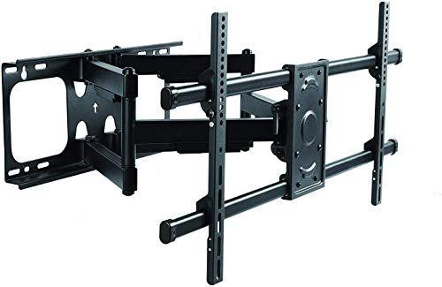 YXNN Heavy Duty de Doble Brazo articulado de Pared for TV Soporte de Montaje for televisores de 37-90 Pulgadas, MAX VESA 800x400mm sostiene hasta 75KG,