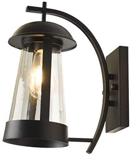 MLL Lámpara de Pared Impermeable para Exteriores Piratas del Caribe Barco Cabina Linternas Colgantes Lámpara de Cubierta, Cilindro de Arco Simple Interior para Exteriores Lámpara Larga para mamparo D