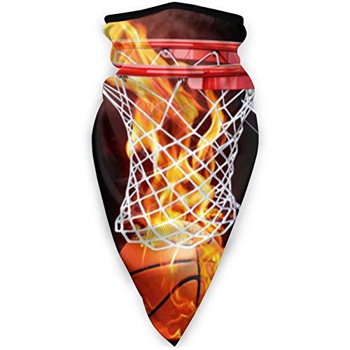 Pasamontañas Máscara de deportes a prueba de viento, bufanda para mujeres y hombres, al aire libre, cómoda y transpirable, para el cuello, bufanda, baloncesto, pelota de llama