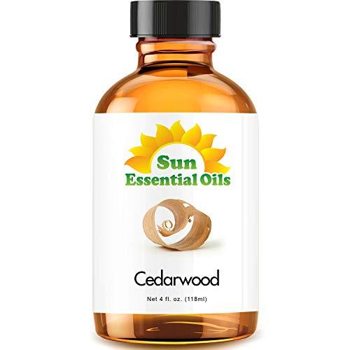 Cedarwood Essential Oil (Huge 4oz Bottle) Bulk Cedarwood Oil - 4 Ounce