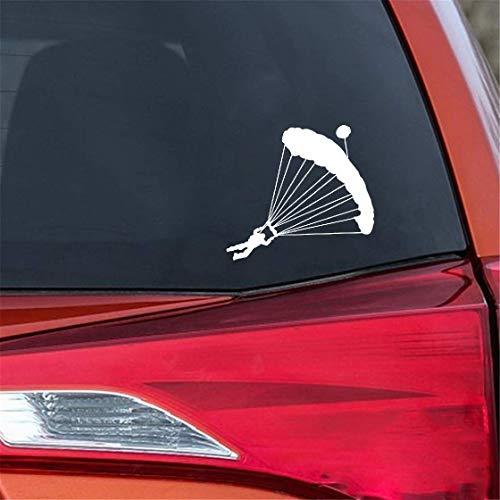 Tattoo Aufkleber Auto 17,7 Cm x 16,2 Cm Fallschirmspringer Fallschirm Extreme Sport Mode Aufkleber Aufkleber Auto Styling für auto laptop fenster aufkleber
