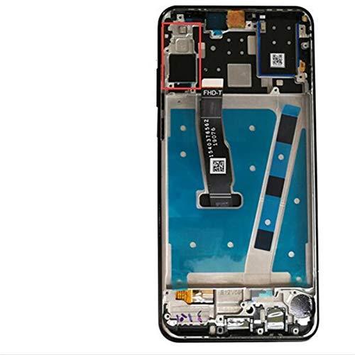 MOLIBAIHUO 2312 * 1080 LCD con Marco Compatible con Pantalla LCD de Huawei P30 LDE LCD Compatible con Huawei P30 Lite Pantalla Nova 4E MAR-LX1 LX2 AL01 LCDs (Color : Blue Big Camera)