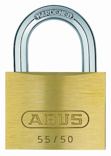 Abus - 55/50 mm messing hangslot gelijksluitend 5501 - ABUKA02874