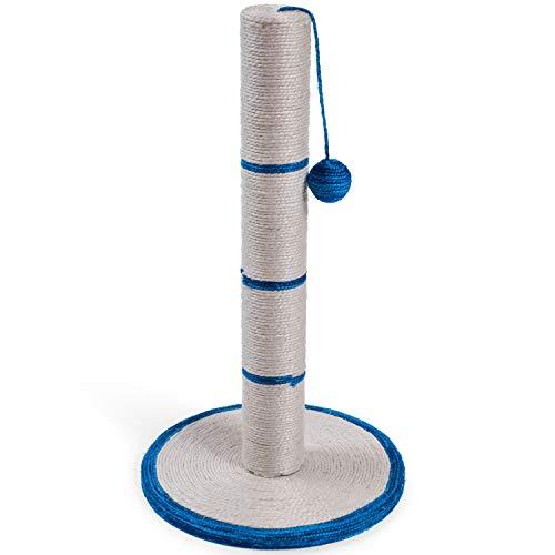 Petface Griffoir en sisal Bleu 62 cm