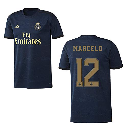 adidas REAL Madrid Trikot Away Herren 2020 - Marcelo 12, Größe:L