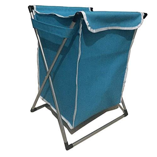 Laundry Hamper Laundry Basket Storage Bin Large Oxford Cloth Dirty Clothes Storage Basket Folding Waterproof Laundry Basket Covered Hamper Basket 42 * 37 * 55cm (Color : Pink, Size : 42 * 37 * 55cm)