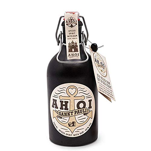 AHOI Rum / Spiced Spirit direkt aus Hamburg Sankt Pauli mit 40% - 500ml