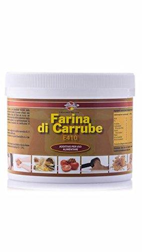 Farina di semi di carrube in polvere - Barattolo 250 g