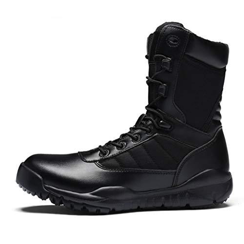 Botas de combate Desert para hombres, botas militares antideslizantes para todo terreno,...