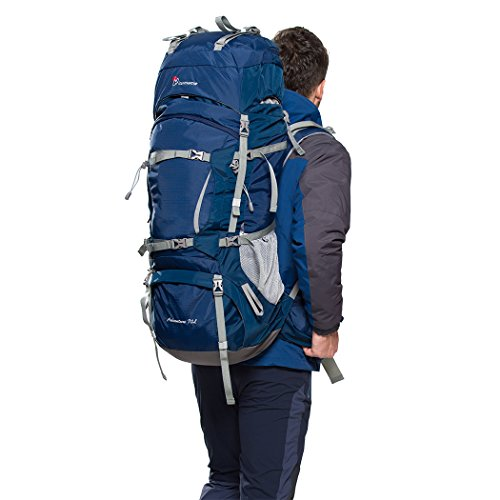 Mountaintop Internal Frame Hiking Backpack