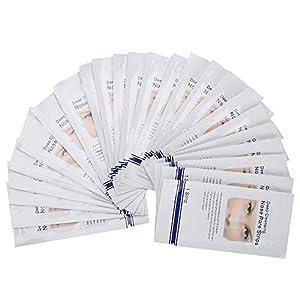 Tiras de espinillas de 24 piezas, limpiador fuerte para la limpieza de poros de la nariz Pelar la máscara para eliminar el exceso de grasa y para la piel