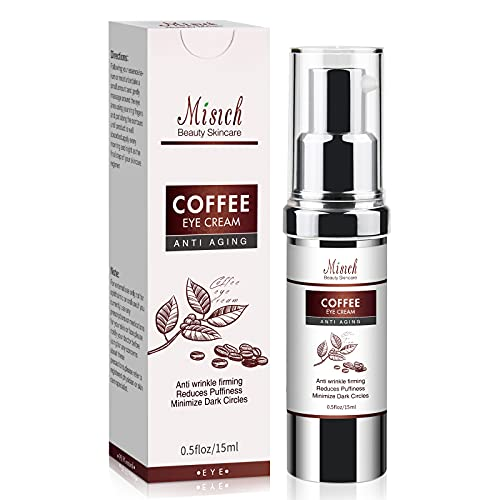 Caffeine Eye Cream(Upgraded)-Anti Wrinkle Eye Cream for Dark Circles and Puffiness-with Collagen, Al