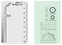 新潟精機 SK クラックメジャー 快段目盛 カードタイプ CM-CKD