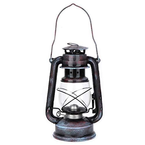 Solomi Kerosene Lamp - Kerosene Laterne, bewegliche Klassische Petroleumlampe Outdoor-Camping-Lichter 24cm