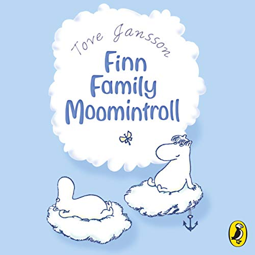 Finn Family Moomintroll audiobook cover art
