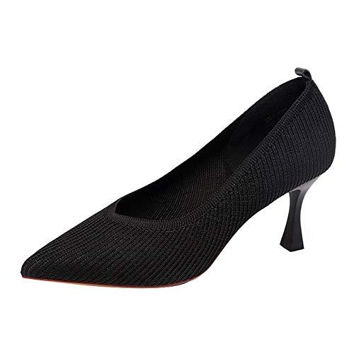 Zapatos de tacón Alto con Punta en Punta para Mujer, Zapatos de Corte Elegantes para Primavera y otoño, Zapatos de Vestir para Fiesta de Noche, Bombas clásicas
